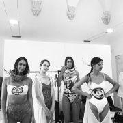 Backstage models Anafiumai