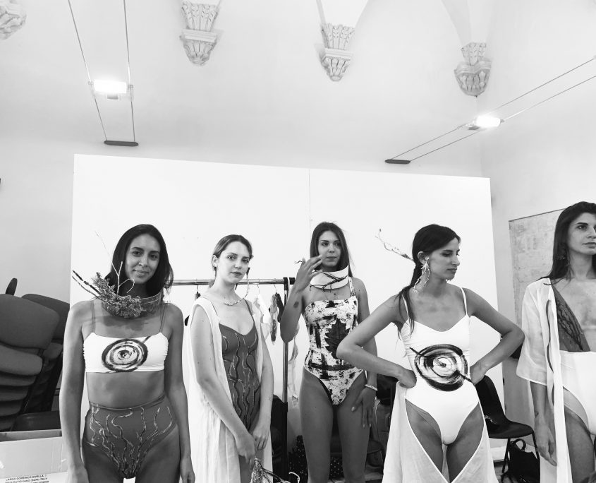 Backstage models Anafiumai