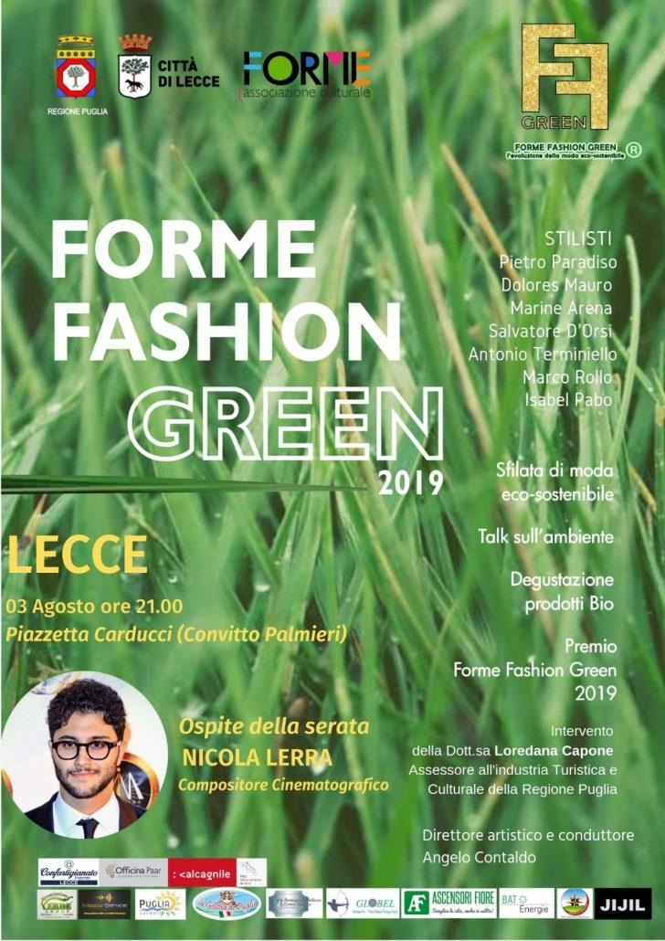 locandina fashion green