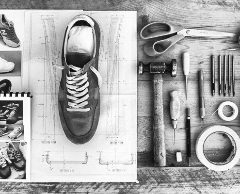 lavorazione scarpe